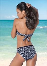 Back view Mid Rise Bikini Bottom