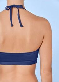 Alternate view Zip Front Bikini Top