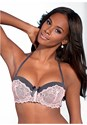Front view Lace Convertible Bra