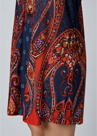 Alternate view Paisley Printed Mini Dress