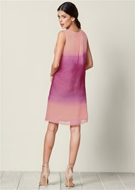 Back view Ombre Party Dress