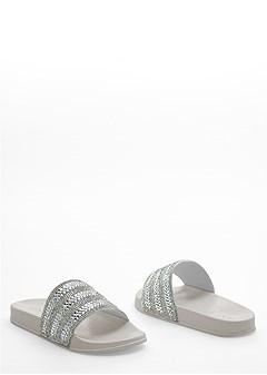 sparkle slide sandal