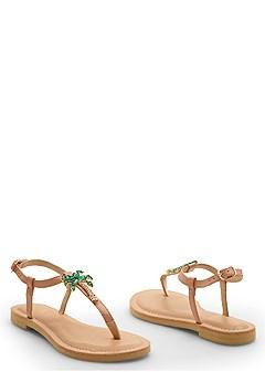 palm tree sandal
