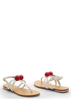 cherry sandal