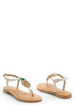 pineapple sandal