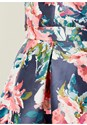 Alternate view High Low Floral Print Dress