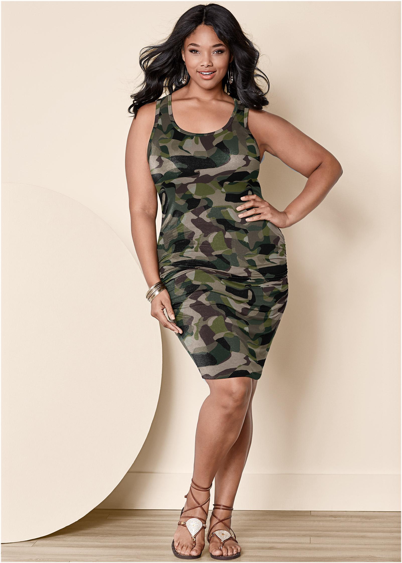 Camo Dresses for Plus Size