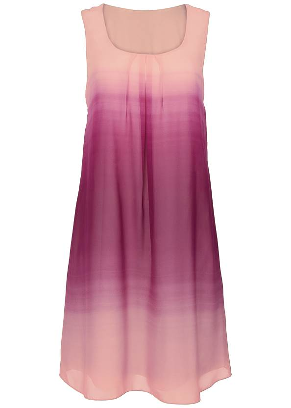 Alternate View Ombre Party Dress