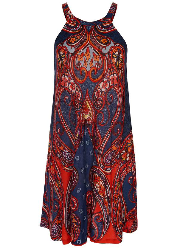 Alternate view Paisley Printed Mini Dress