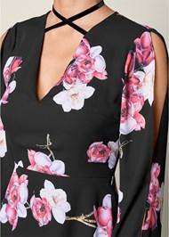 ALTERNATE VIEW High Low Print Dress