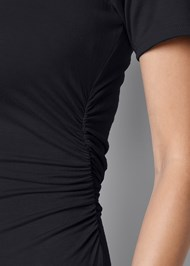 Front view V-Neck T-Shirt Dress