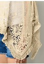 Alternate view Lace Fringe Detail Poncho