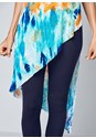 Alternate view Ribbed Tie Dye Tunic Top