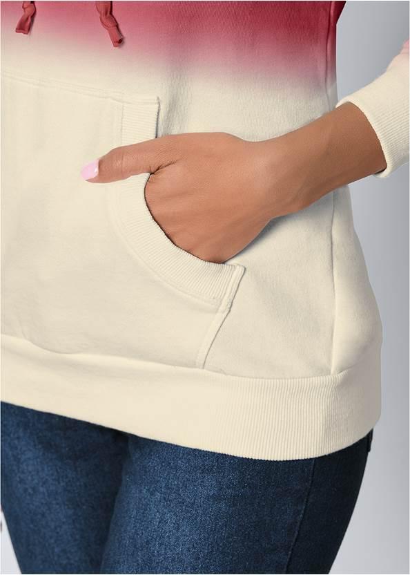 Alternate View Cold Shoulder Sweatshirt