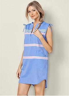 plus size sleep dress