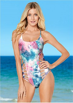 hourglass one-piece
