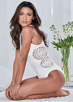 crochet side bodysuit