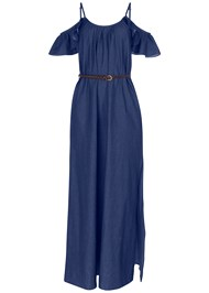 Alternate View Chambray Maxi Dress