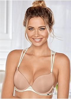 open back push up bra