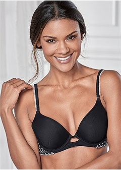 contrast lace everyday bra