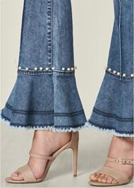 Alternate View Pearl Detail Jeans