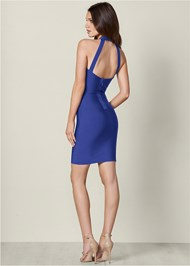 Back View Bandage Strappy Dress