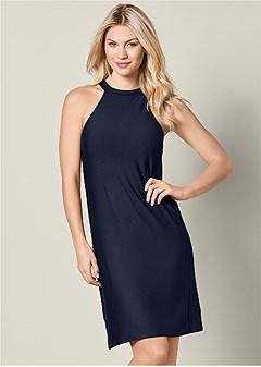 casual a line dress