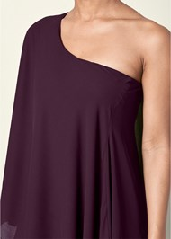 Alternate View One Shoulder Dress