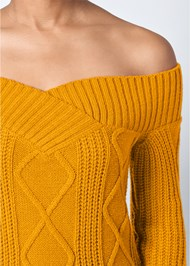 Alternate View Off The Shoulder Sweater