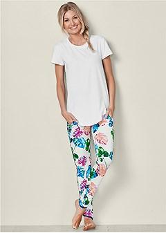 printed sleep pants