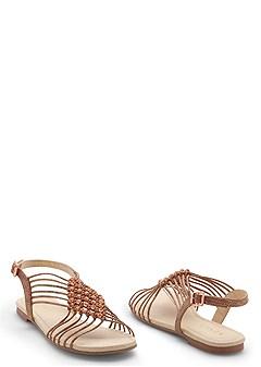 diamond strappy sandal