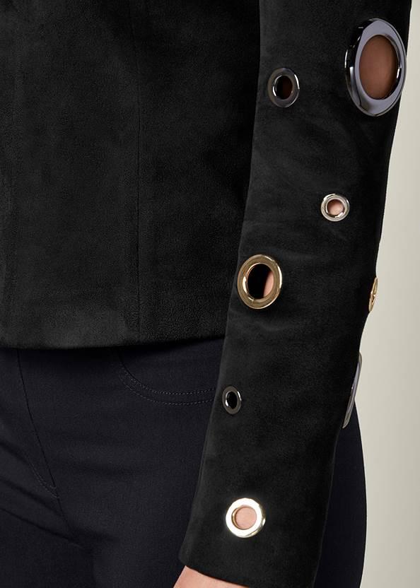 Alternate View Grommet Detail Jacket