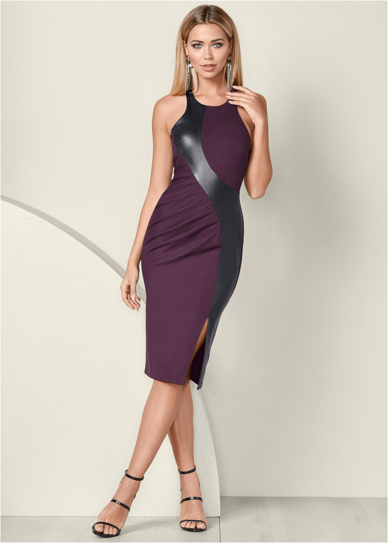 Brownish Purple Dresses