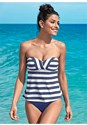 Front view Bandeau Tankini Top