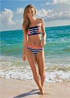 zip front bikini top
