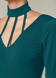 Alternate View Strappy Detail Jumpsuit