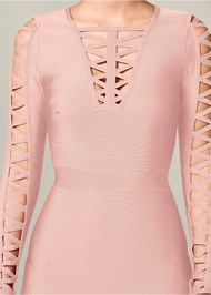 Alternate View Bandage Strappy Dress