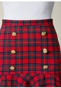 Alternate View Plaid Skirt