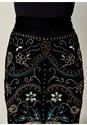 Alternate View Embellished Midi Skirt