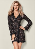 lace coat dress