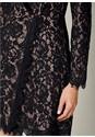 Alternate View Lace Coat Dress