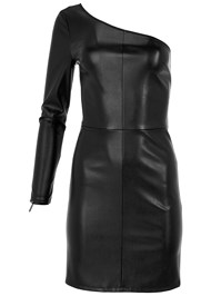 Alternate View Faux Leather Bodycon Dress