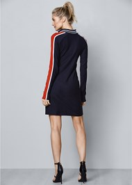 Back View Track Suit Dress