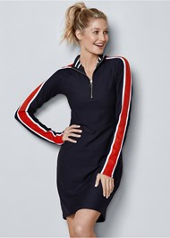 Front View Track Suit Dress