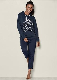 graphic hooded sweatshirt