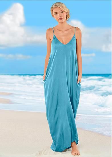 Boho Maxi Dress Cover-Up