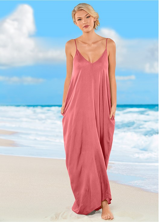 BOHO MAXI DRESS COVER-UP