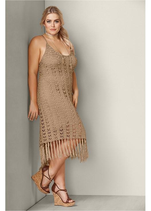 Plus Size Crochet Dress Dress Foto And Picture