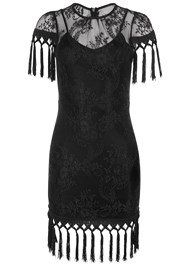 Alternate View Tassel Detail Lace Dress