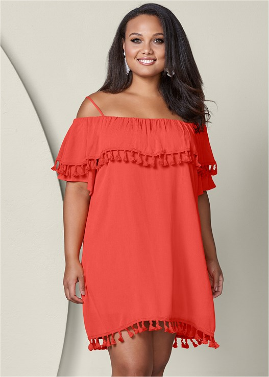 Plus Size Off The Shoulder Dress Venus